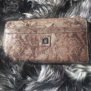 New Lodis zip around wallet